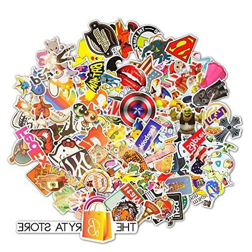 200 The Best Selling Sticker | Perfect Graffiti Your Laptop, Skateboard, Luggage, Car, Hard Hat | The Bryta Store