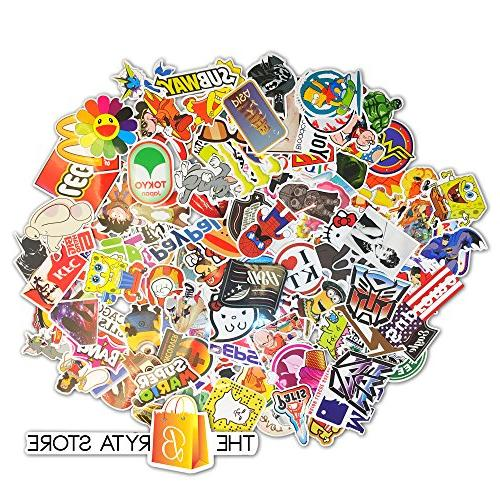 200 PREMIUM Stickers Vinyls | Pack of The Selling Quality Sticker | Luggage, Car, Bumper, Bike, Hard Bryta Store