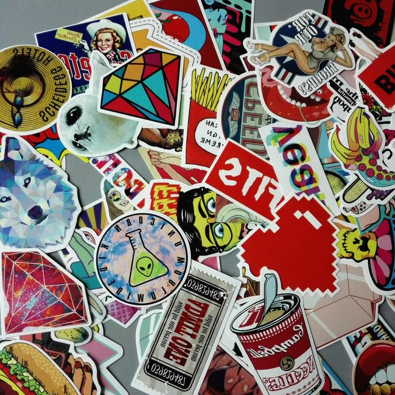 200 Skateboard Vinyl Dope Sticker