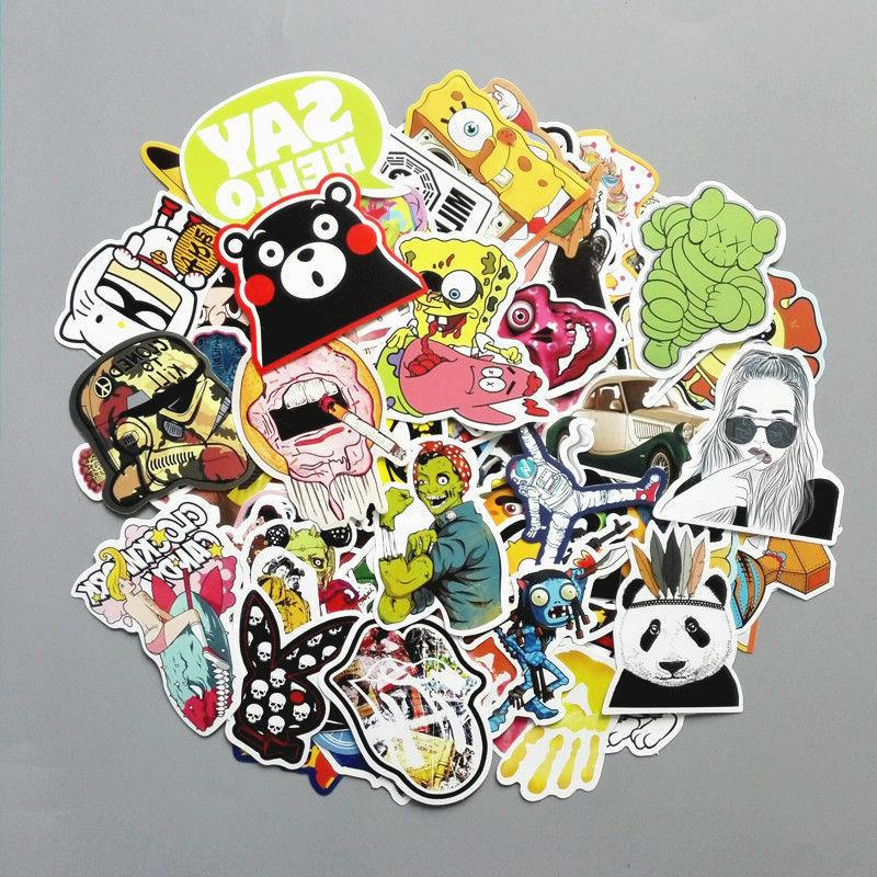 200 Stickers Vinyl Laptop Dope LOT