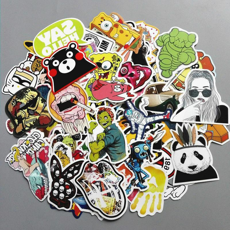 200 Stickers Vinyl Dope Cool LOT