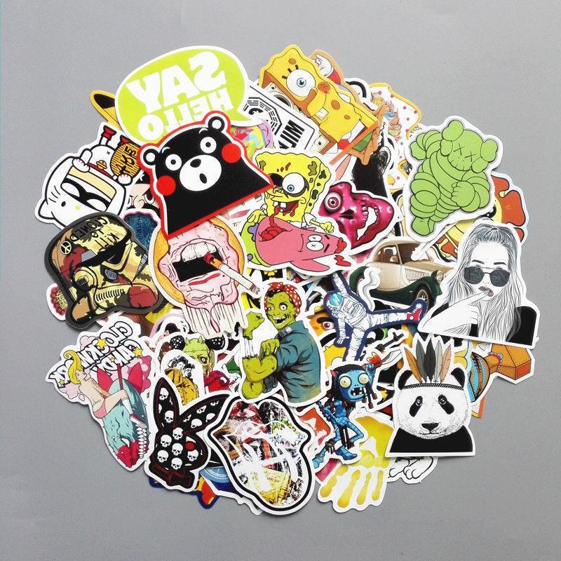 200 Stickers Vinyl Laptop Dope LOT