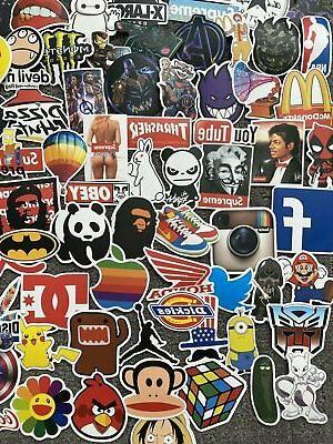 200 Skateboard Stickers Laptop Luggage Sticker