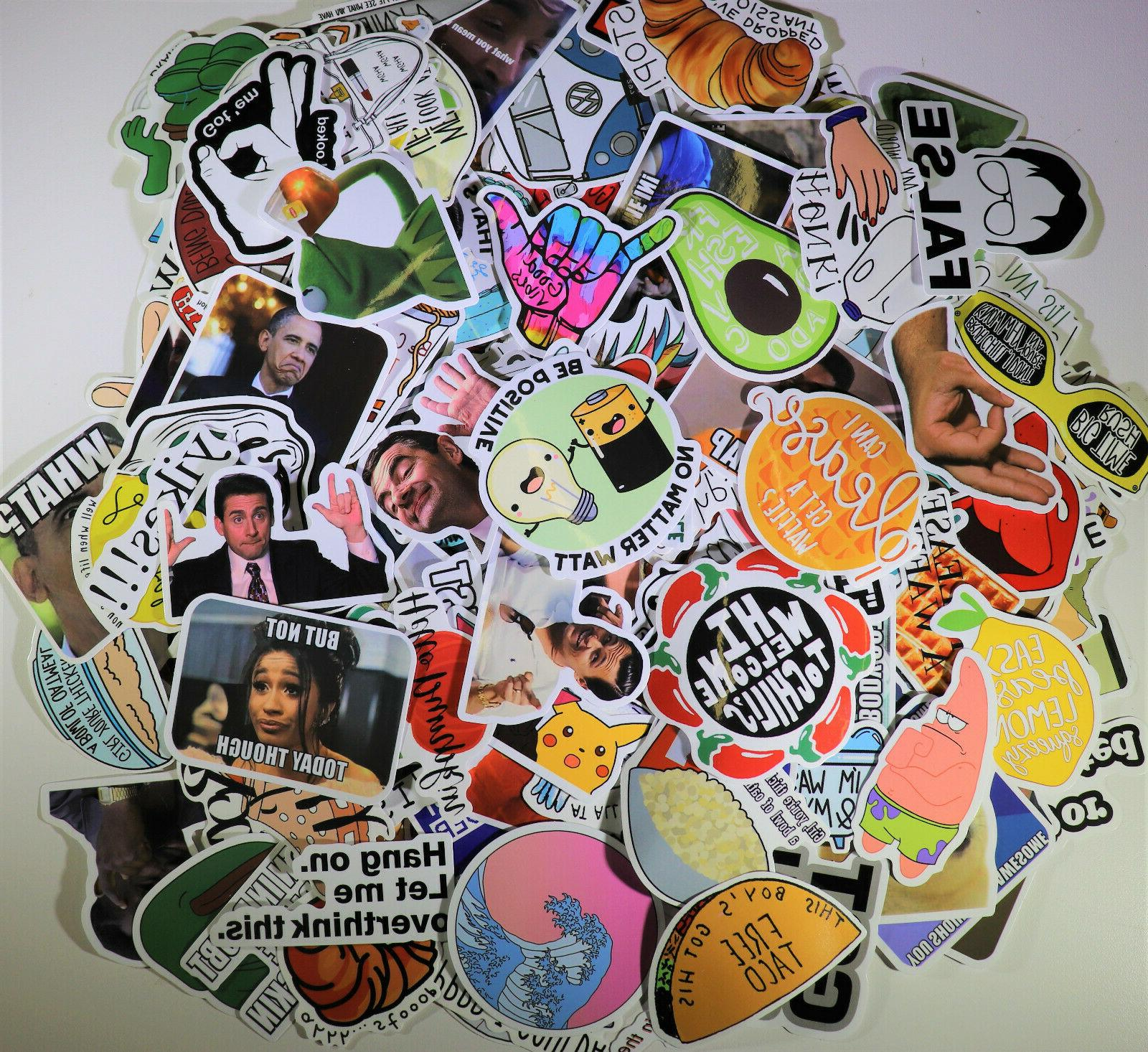 200pc Vinyl Decals Dope Sticker lot