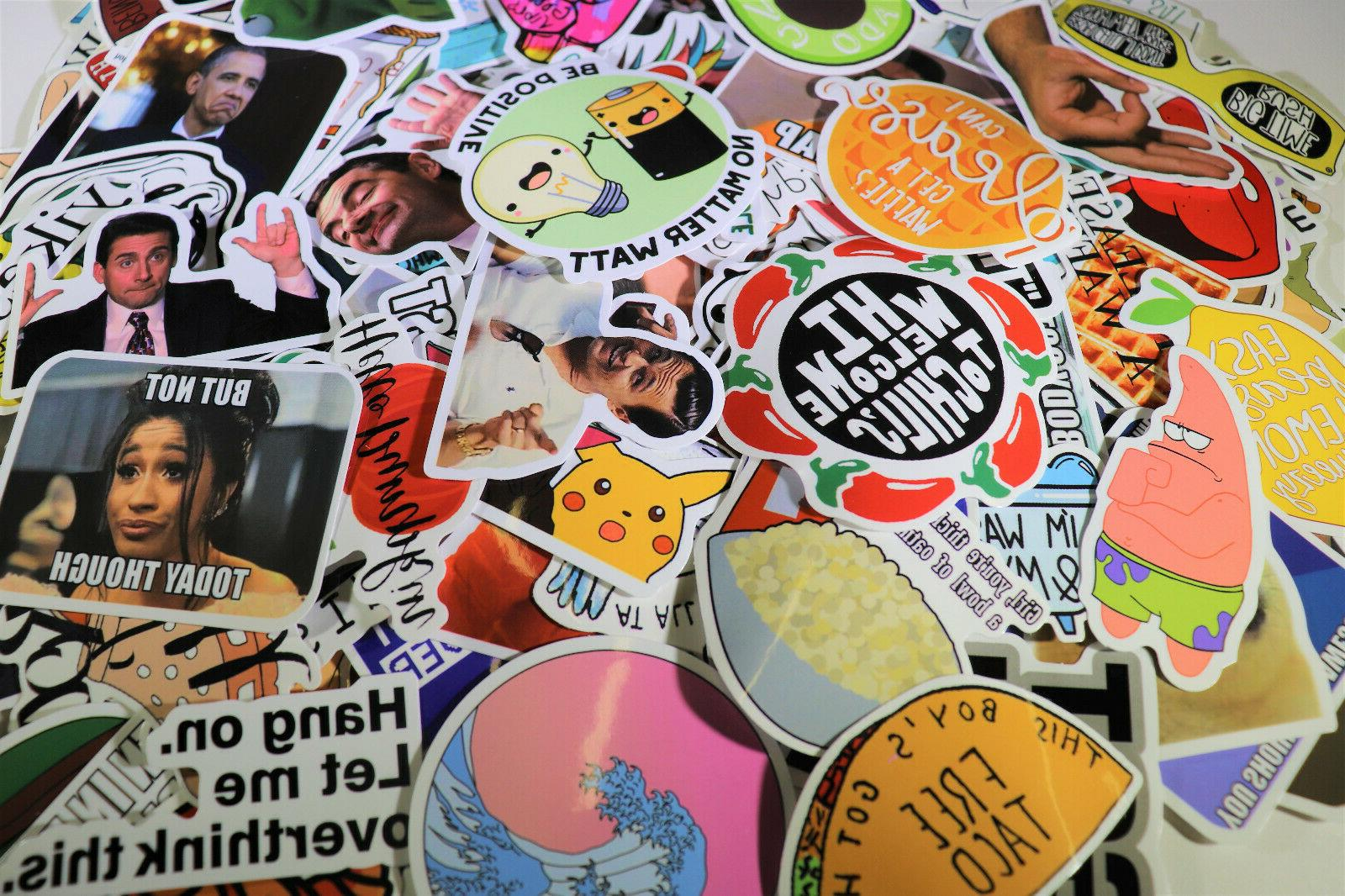 200pc Skateboard Vinyl Laptop Luggage Dope Sticker
