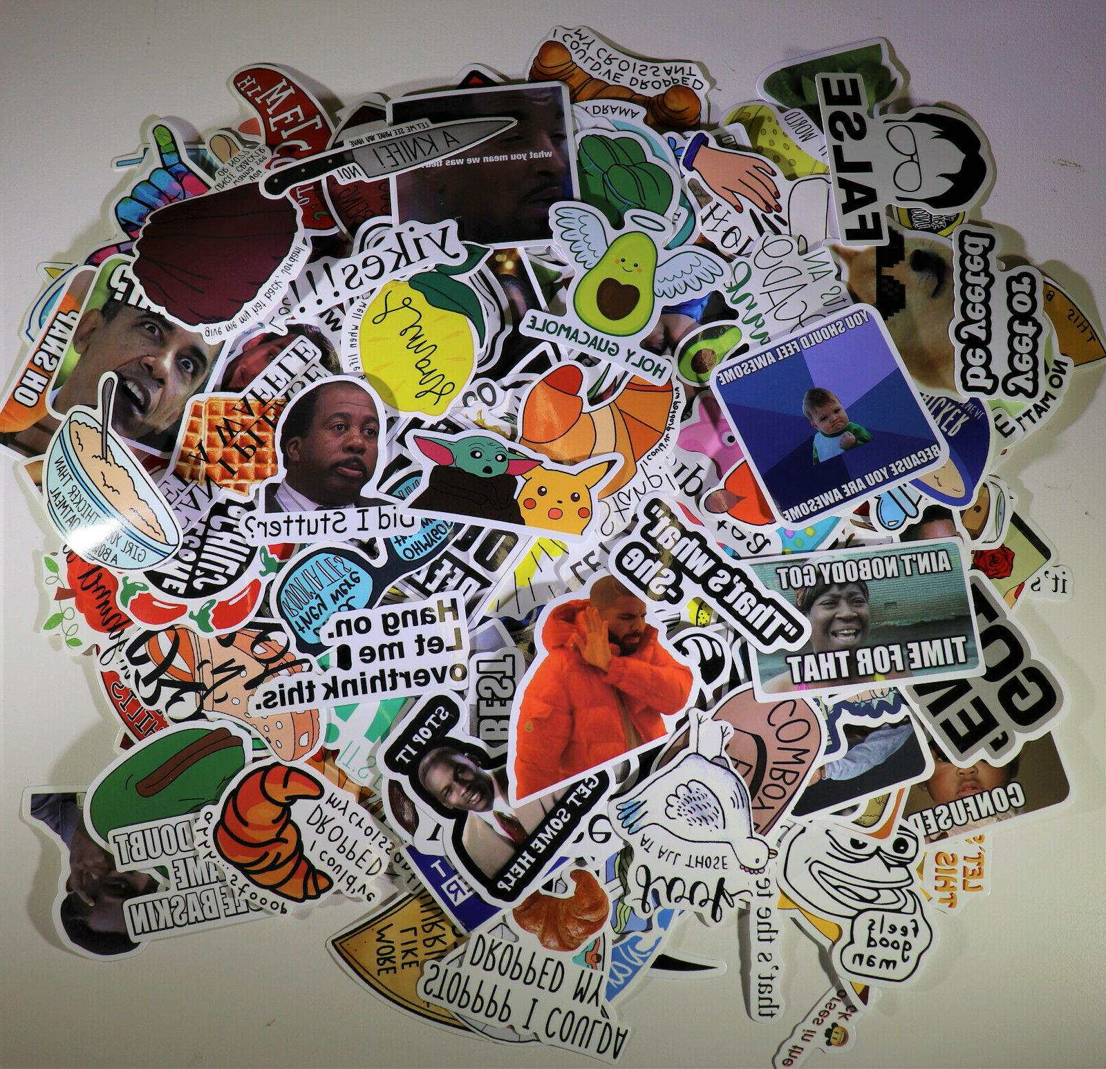 200pc Skateboard Stickers Vinyl Dope lot