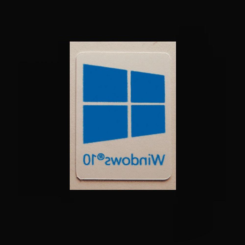 20pcs Windows 10 Sticker Badge Label Logo Decal Laptop HD Qu