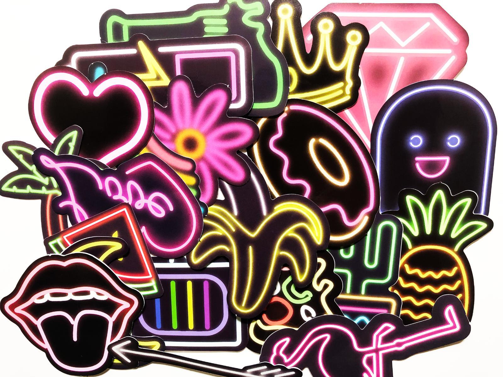 21 stickers skateboard laptop decals dope sticker