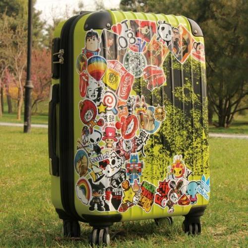 50 x Finger Skateboard Sticker Graffiti Luggage Laptop Decal
