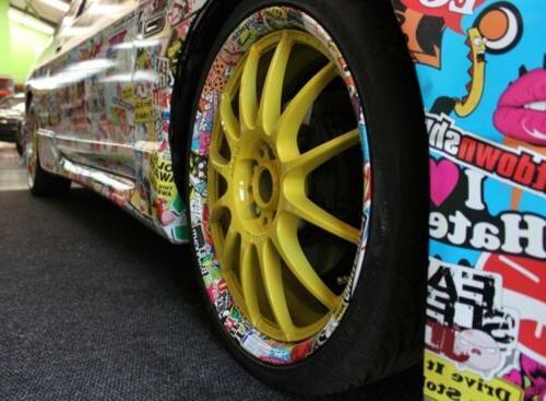 50 Finger Skateboard Sticker Graffiti Luggage Decal