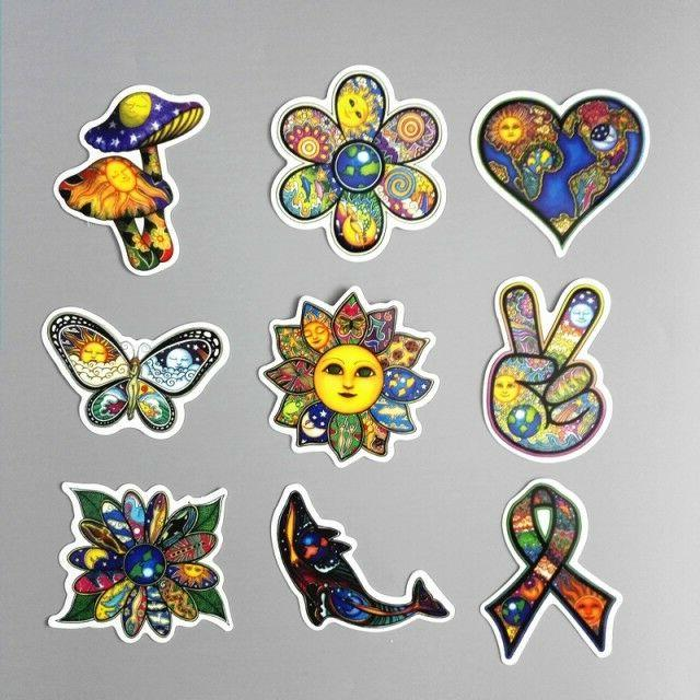 25 Boho Stickers Hipster Laptop Car Decal