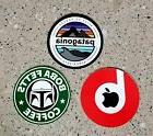 3 x Pack Patagonia Beats Stickers for Laptop/Skateboard viny
