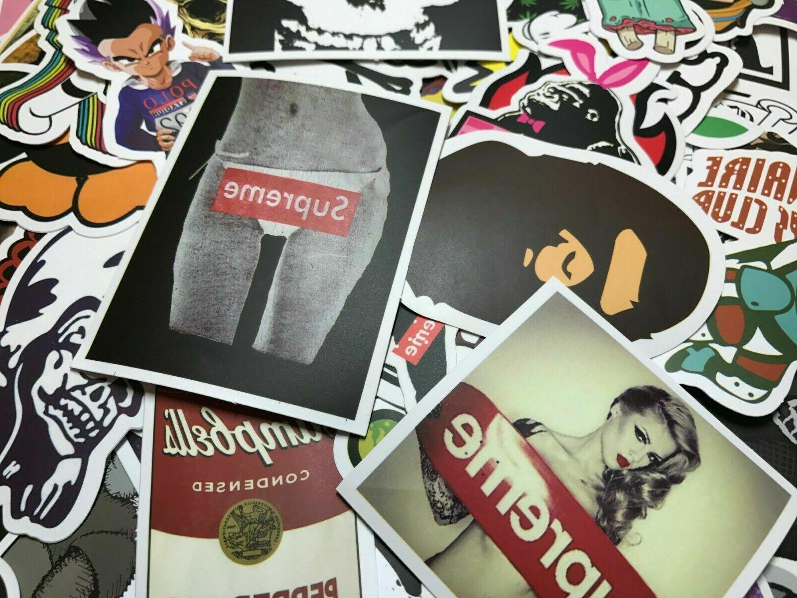 300 Random Stickers Vinyl Laptop Dope Sticker