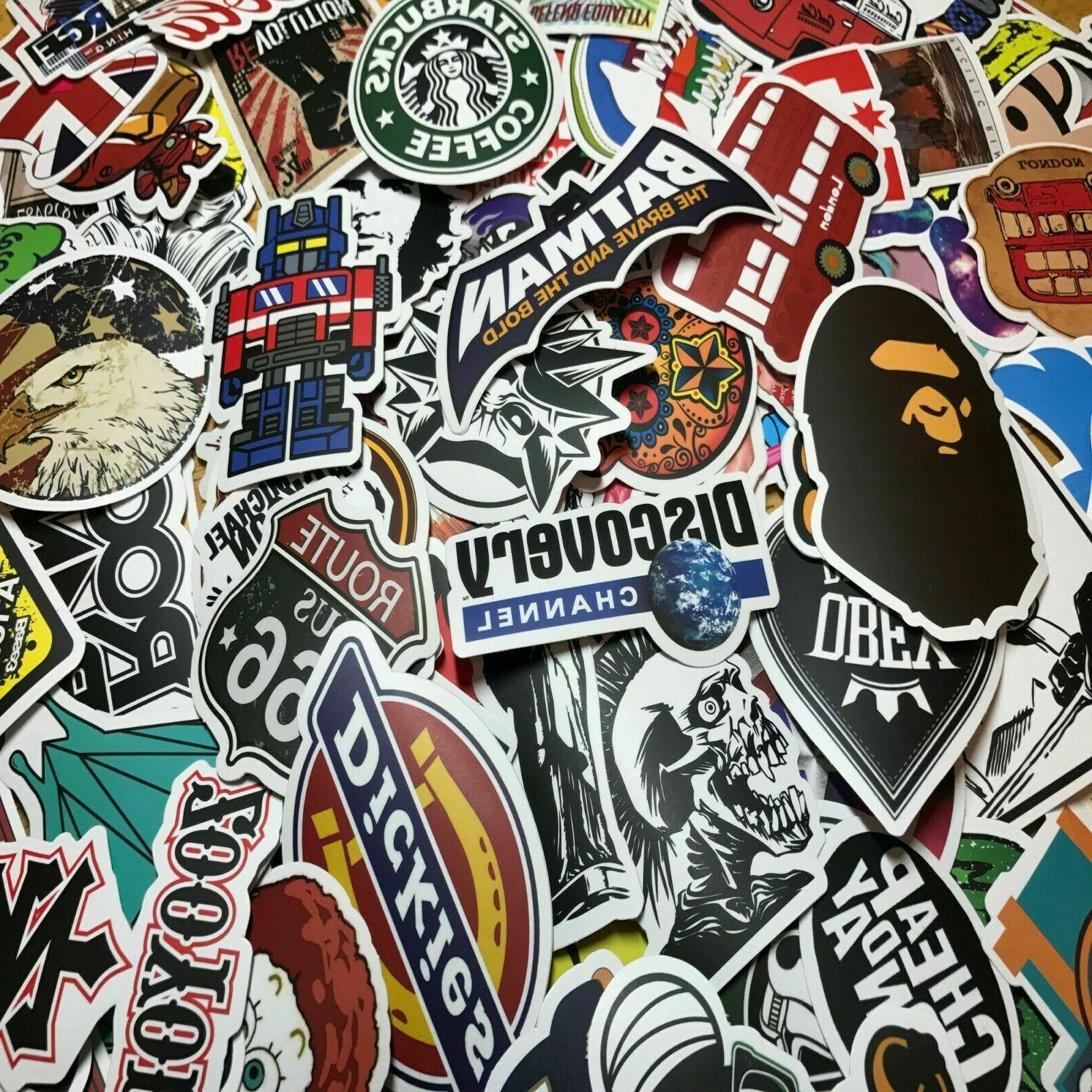 Vinyl Laptop Luggage Dope Sticker Lot