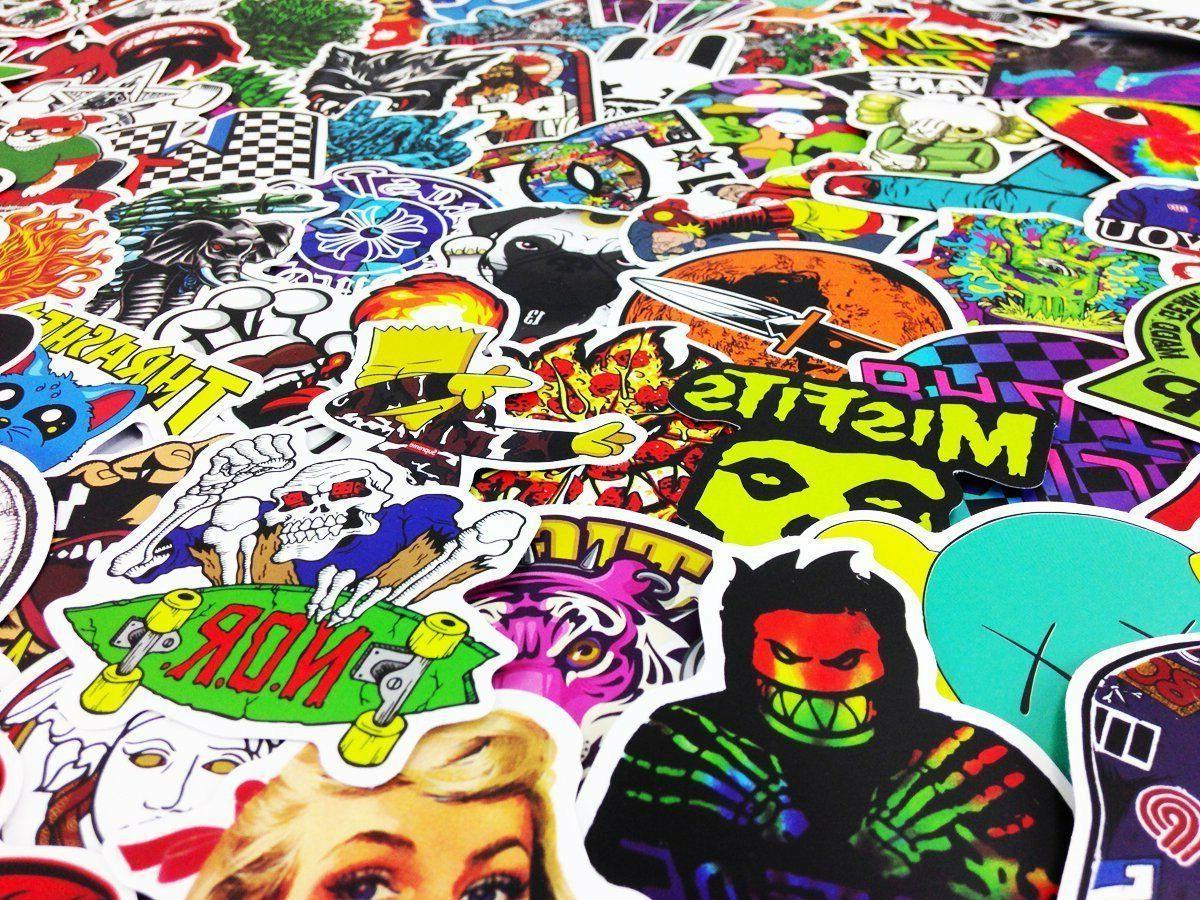 300 Random Stickers bomb Laptop Decals