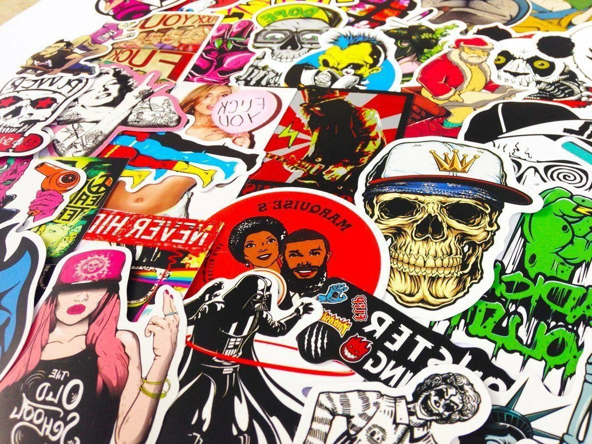 100 Stickers Vinyl Dope
