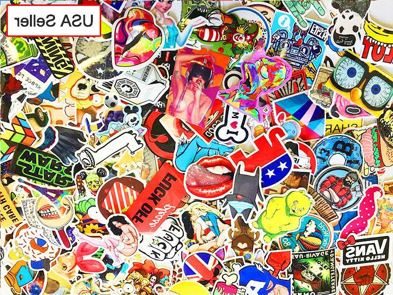 300 pcs / lot Sticker Bomb Decal Vinyl Roll Car Skate Skateb