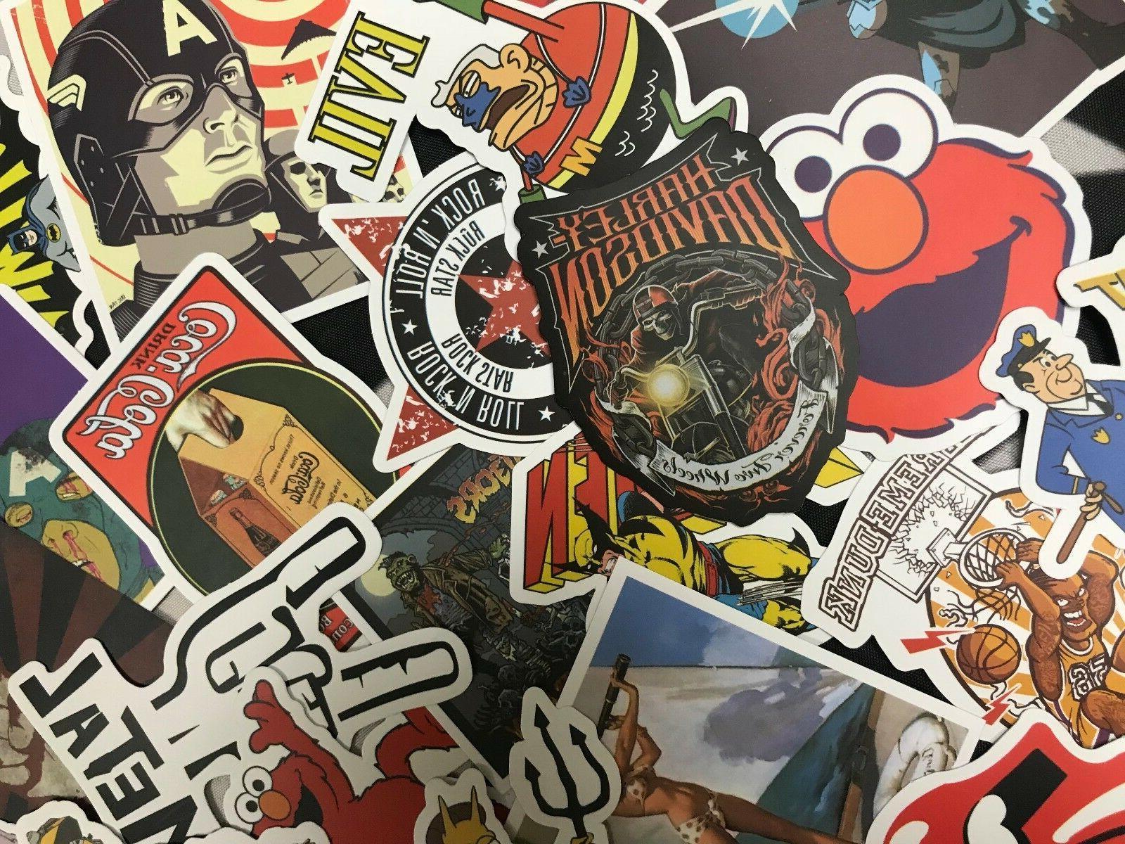 300 pcs / Sticker Decal Roll Car Skate Laptop