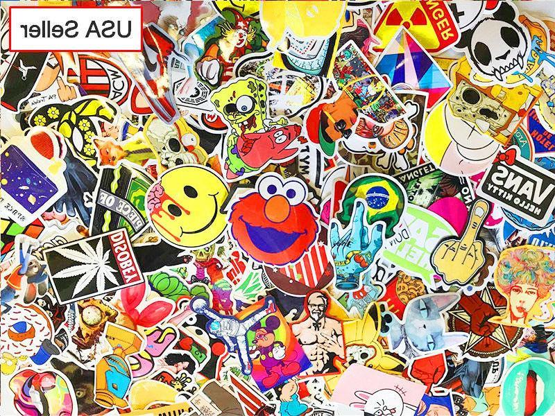 300 pcs Sticker Bomb Roll Laptop