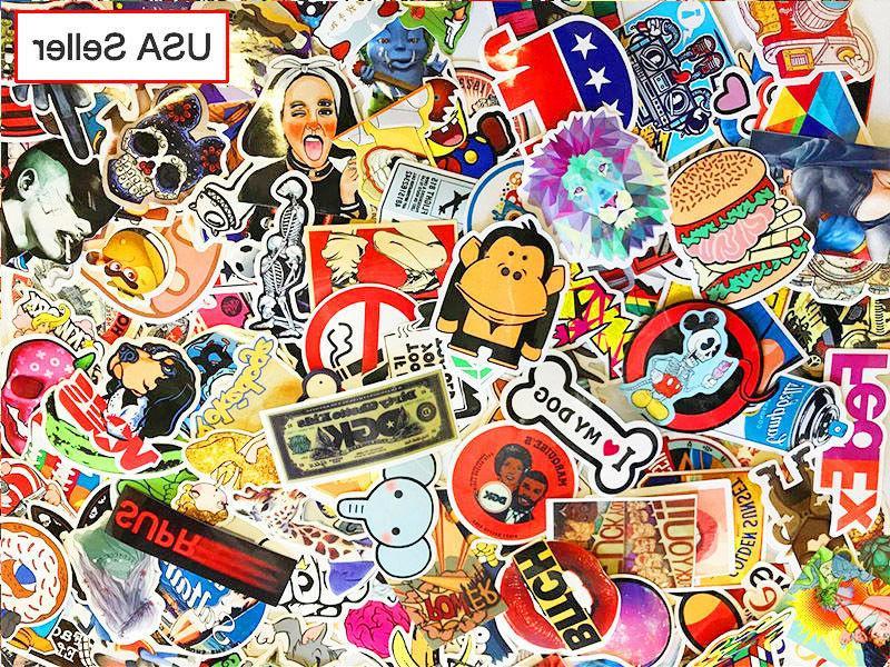 300 pcs / Sticker Bomb Decal Roll Car Laptop