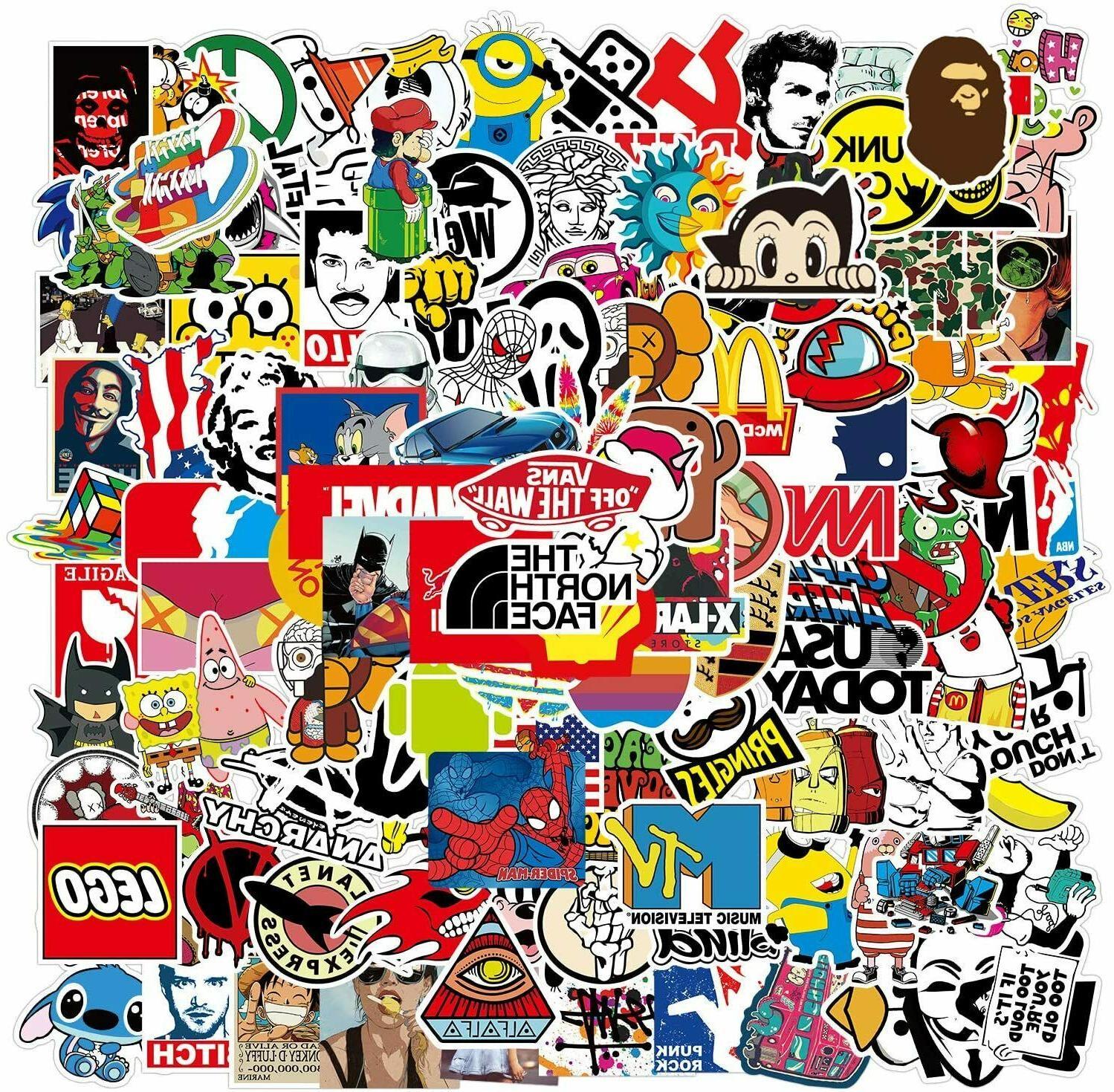 300 Random Bomb Vinyl Decals Dope Sticker