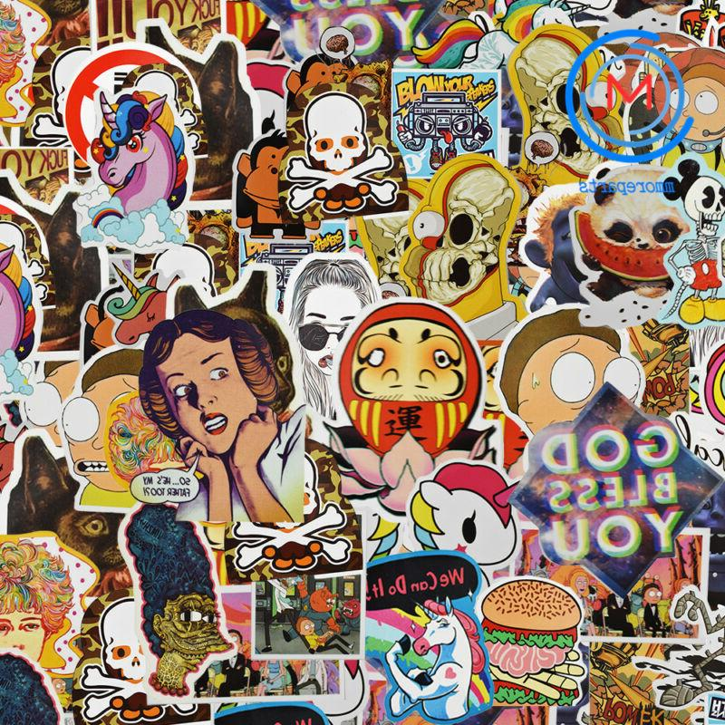 300pcs Mix Stickers for Skateboar Sticker Car