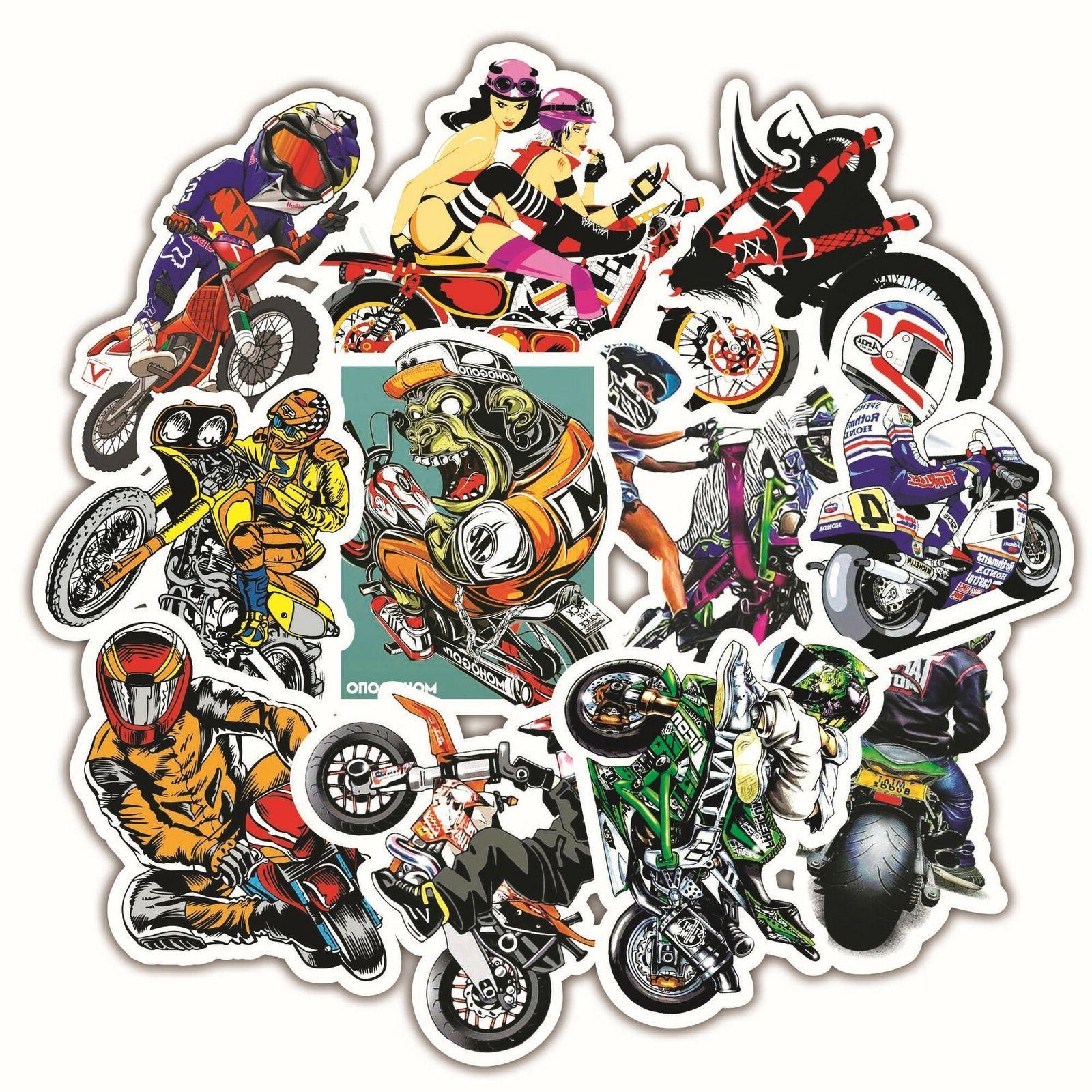 30pc Graffiti Vinyl Laptop Motorcycle Sticker