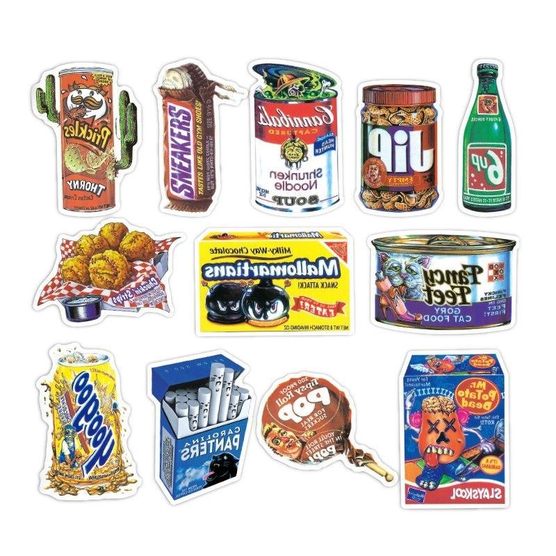 36 Kuso Retro Kids <font><b>Stickers</b></font> Phone Skateboard Bike Bedroom <font><b>Stickers</b></font>