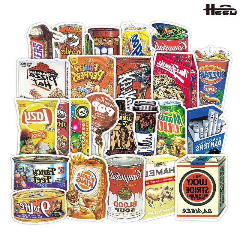 36 pcs kuso originality retro food kids