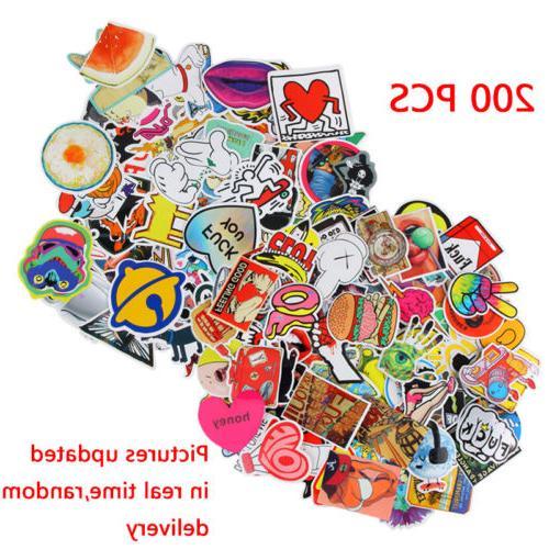 400/200 Random Stickers Luggage