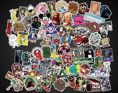 400 New Random Skateboard Stickers Laptop Luggage Decals Sticker