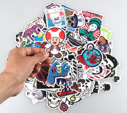 400 PCS Sticker Graffiti Luggage Decals mix