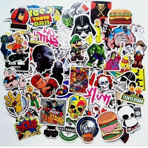 400 PCS Stickers Sticker Graffiti Laptop Luggage mix