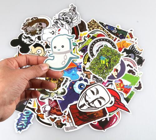 Sticker Luggage Decals mix