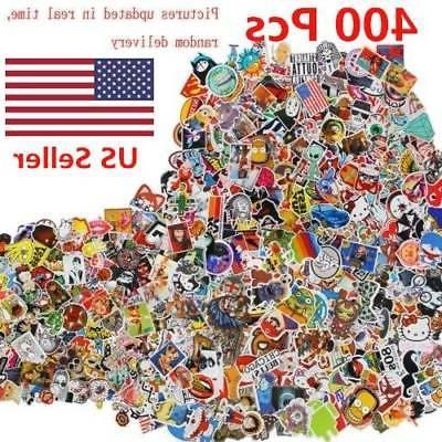 400 pcs stickers skateboard sticker graffiti laptop