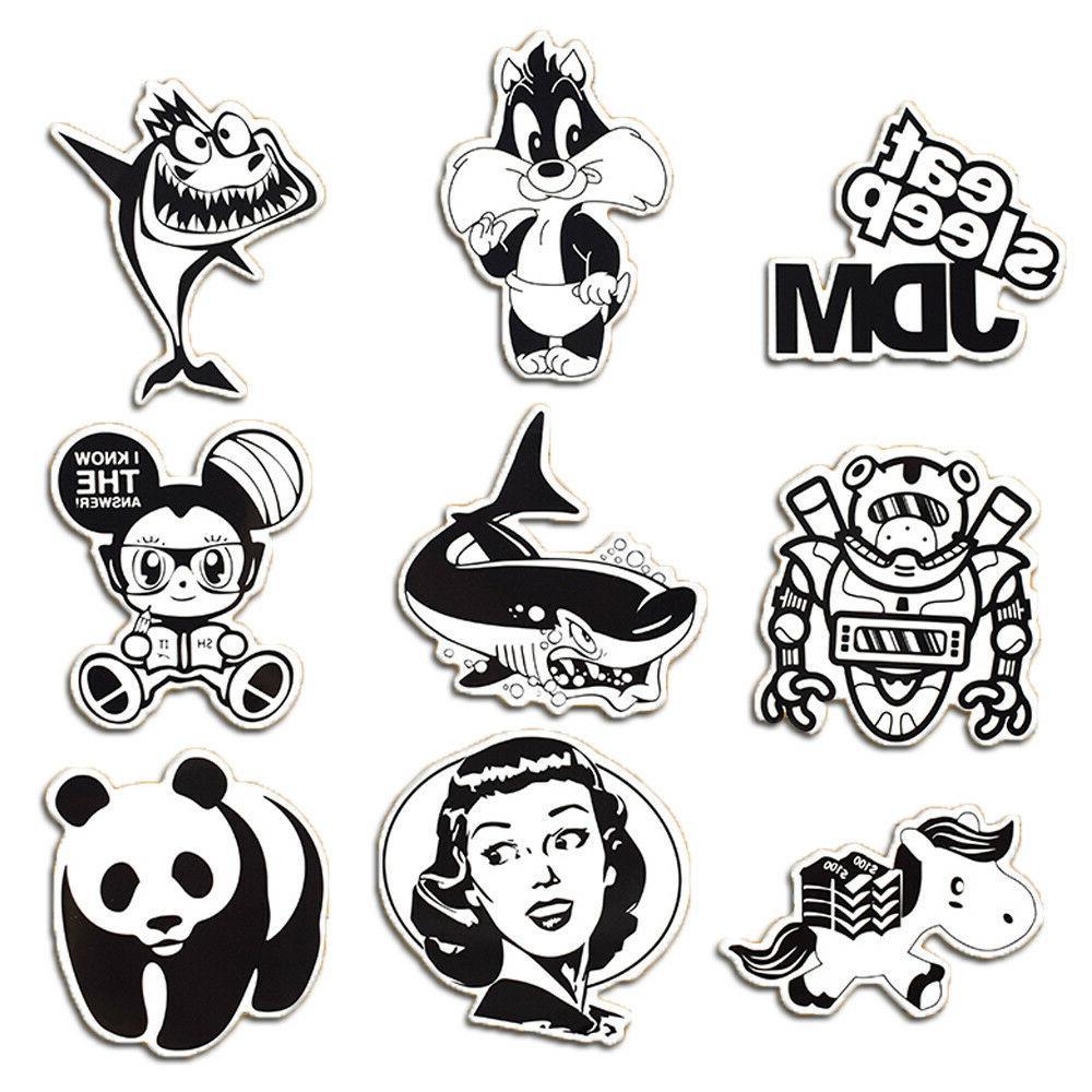 50 Skateboard Sticker Laptop Lot