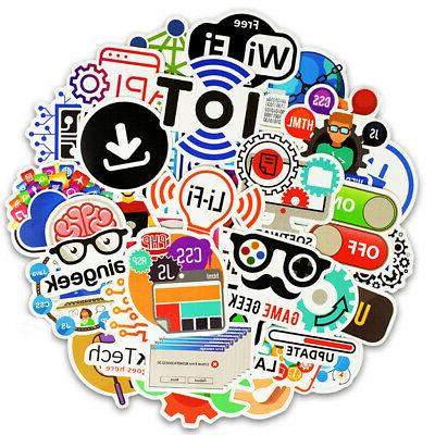 50 Developer Sticker Java Php Geek For