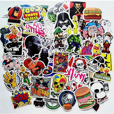 150 pcs Skateboard Stickers Graffiti Laptop Sticker Luggage