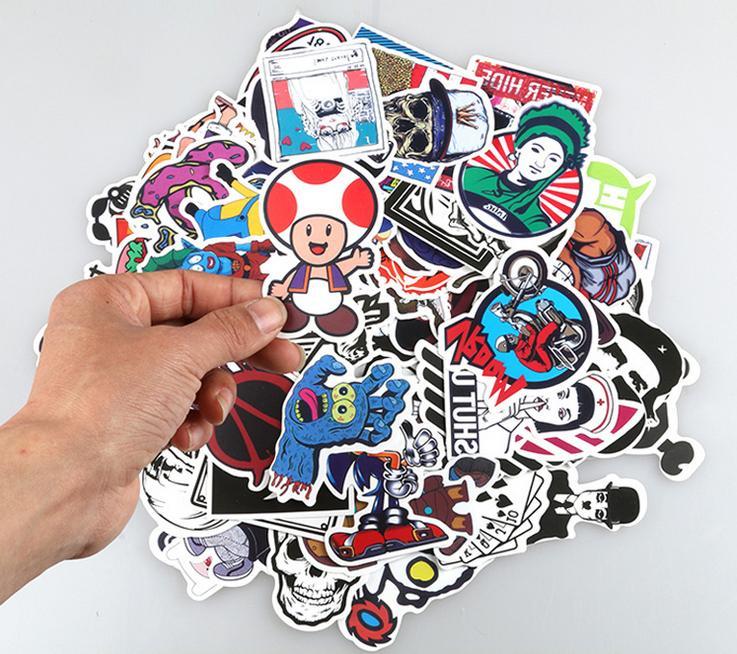 50 PCS Vinyl Graffiti Sticker Bomb Skate Stickers