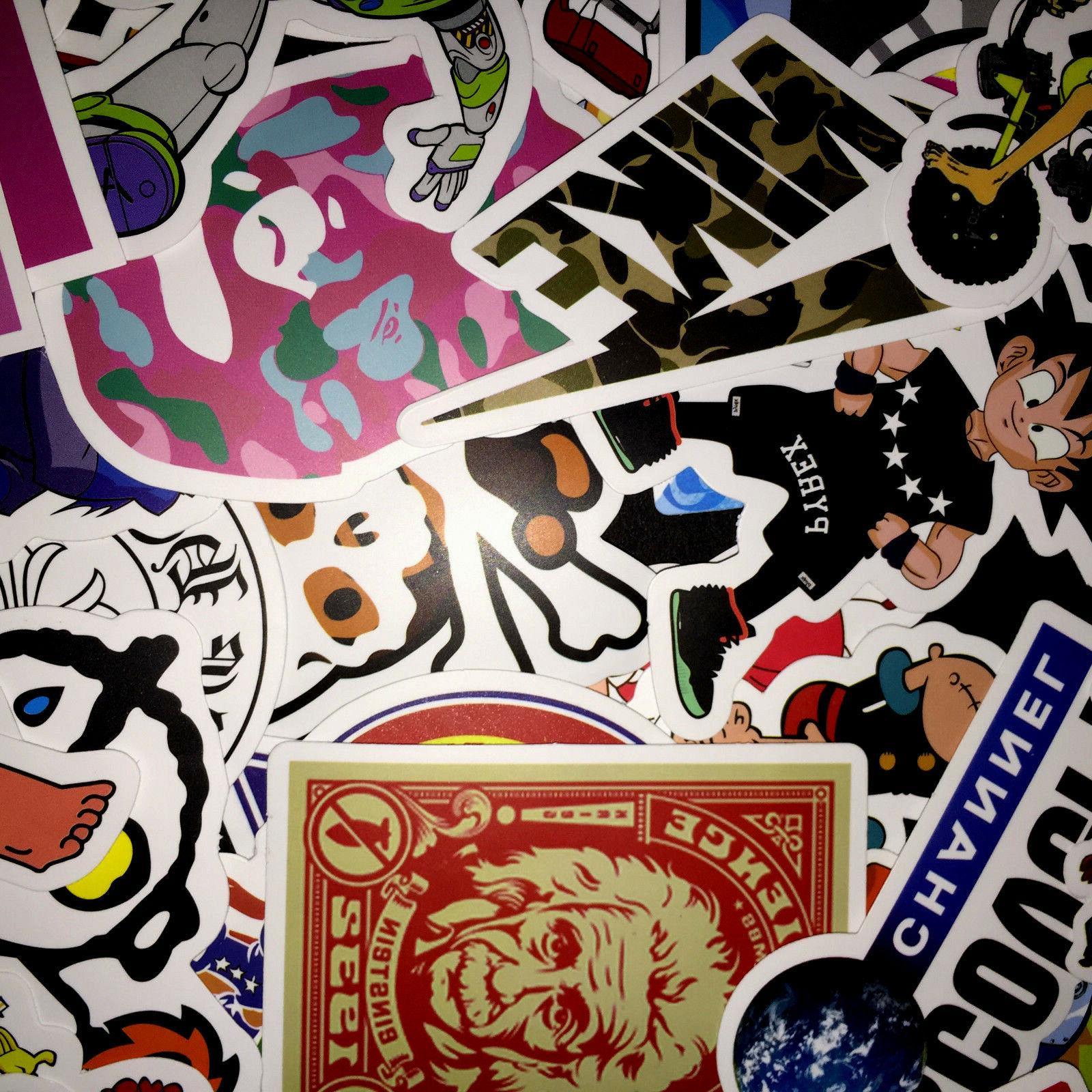 50 Random Vinyl Dope Sticker