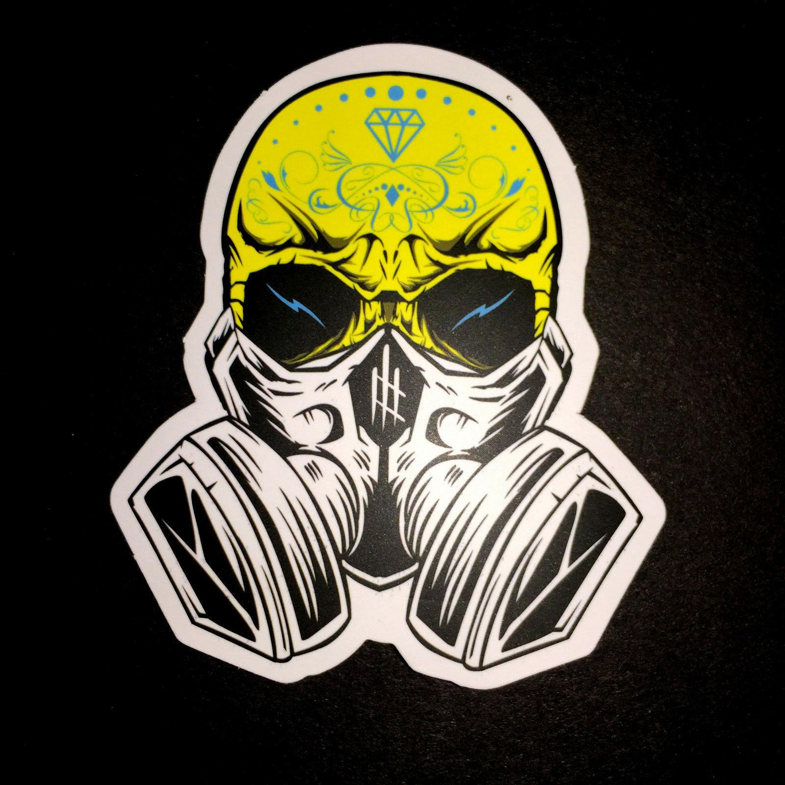 50 Skateboard Stickers Vinyl Dope