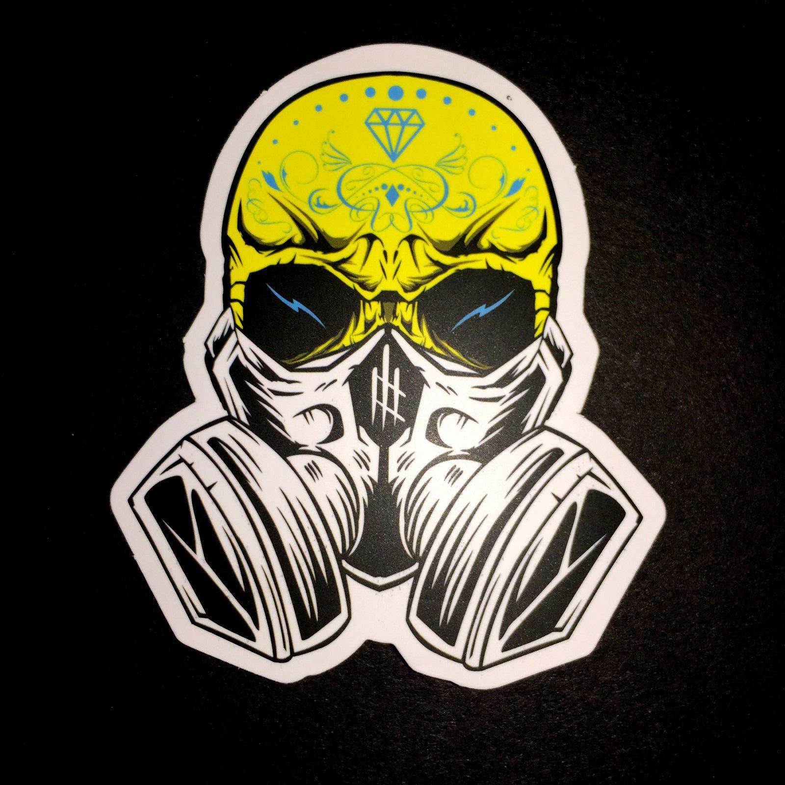 50 Skateboard Stickers Vinyl Dope