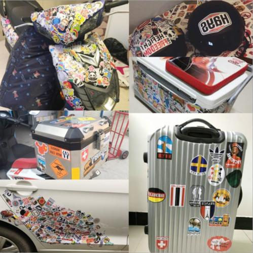 50 Stickers Rock Punk Music Metal Laptop Car Bumper