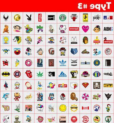 500 Stickers bomb Vinyl Dope