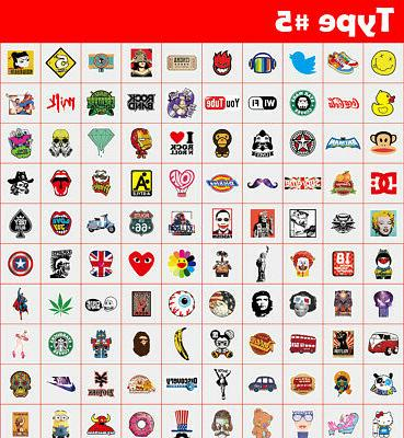 500 Stickers bomb Vinyl Luggage Dope lot cool