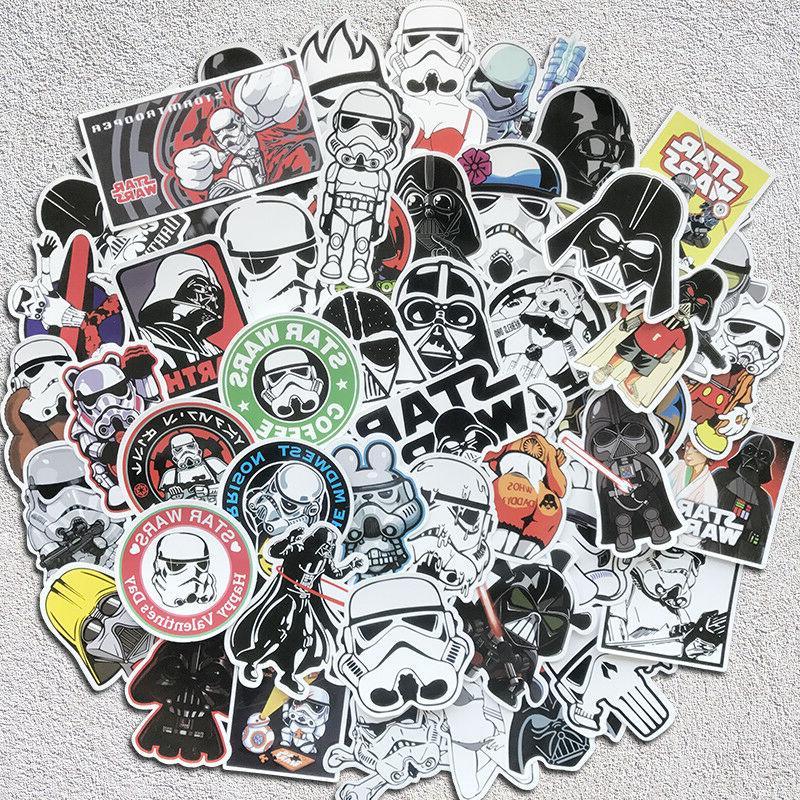 50Pcs Cool Star Wars Graffiti Sticker Kids Toy DIY Skateboar