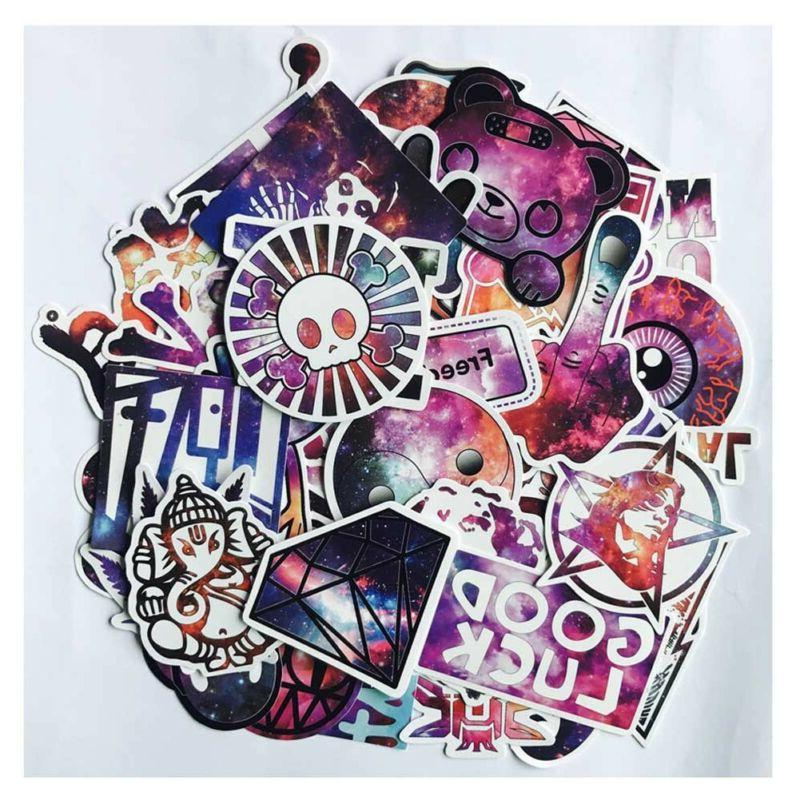 50Pcs Cute Stickers Skateboard Stickers Graffiti Laptop Lugg