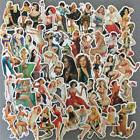 50Pcs Pvc Sexy Beauty Girls Stickers Phone Laptop Skateboard