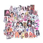 50Pcs Sexy Beauty Tatoo Girls Graffiti Sticker Luggage Skate