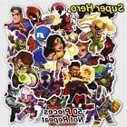 50Pcs/lot Luggage Sticker Marvel Super Hero Pack Car Skatebo